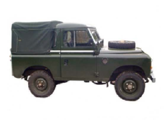 Short Wheel Base 3/4 Canvas Hoods image