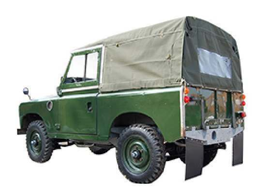 Short Wheel Base Full Canvas Hoods