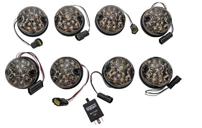 Smoked LED Lights and Light Kits