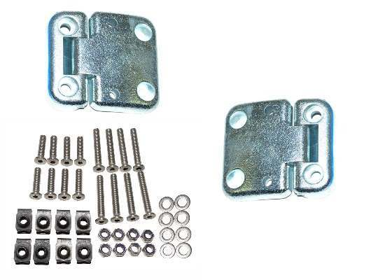 Hinges, Hinge Sets, Screws and Nuts