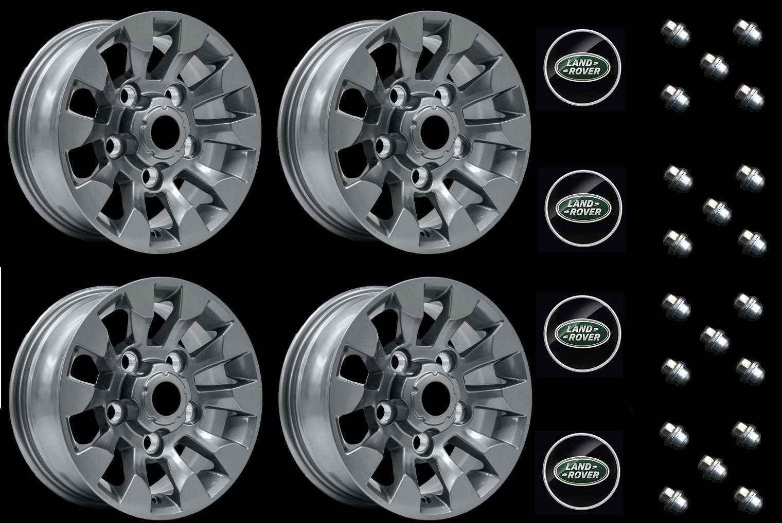 Alloy Wheels and Alloy Wheel Vehicle Kits