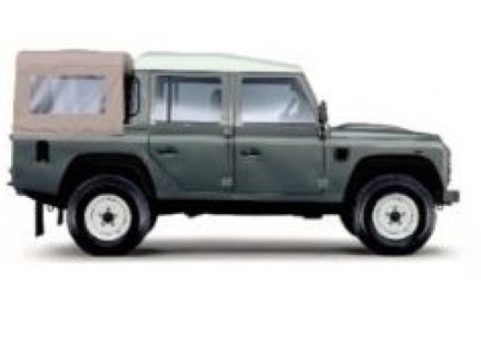 Defender 110 Crew Cab Carpet Sets image