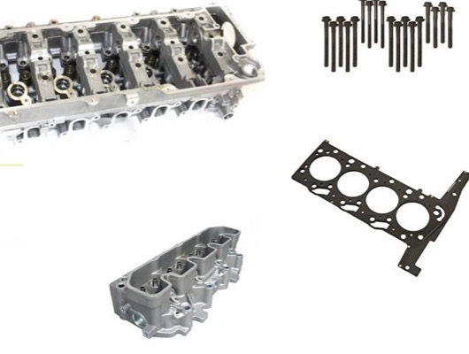 Cylinder Head and Block