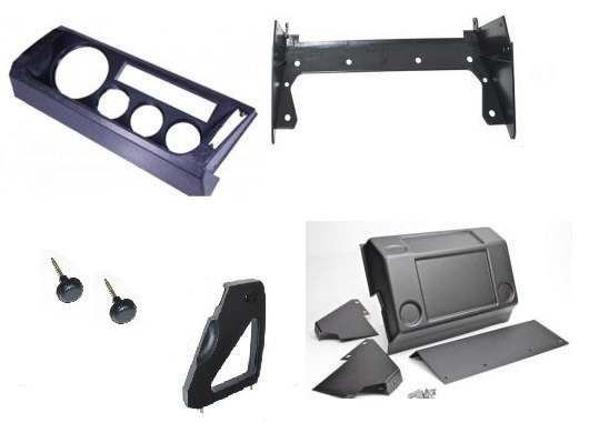 Dash Assembly and Steering Cowls