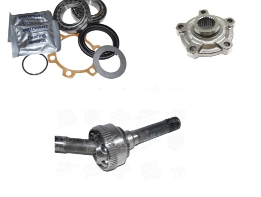 Front Wheel Bearing Kits and Hub Components