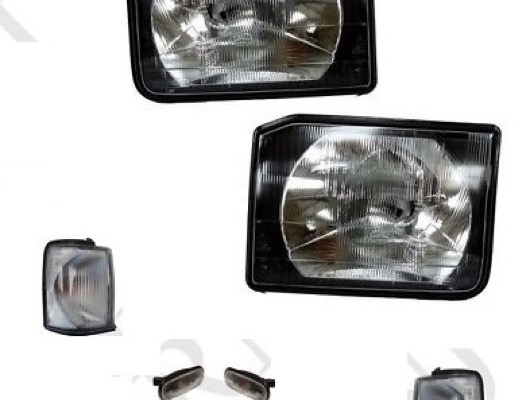 Headlights and Indicators