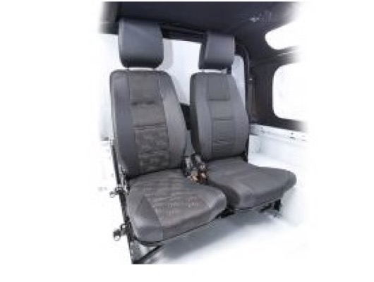 Forward Facing Load Space Seating for Defender image