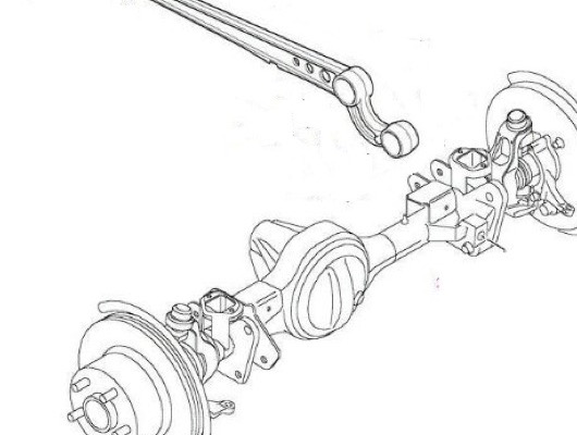 Land Rover Defender Front Radius Arms