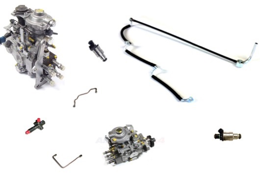 Fuel Injectors Pipes and Igntion Coil Parts image