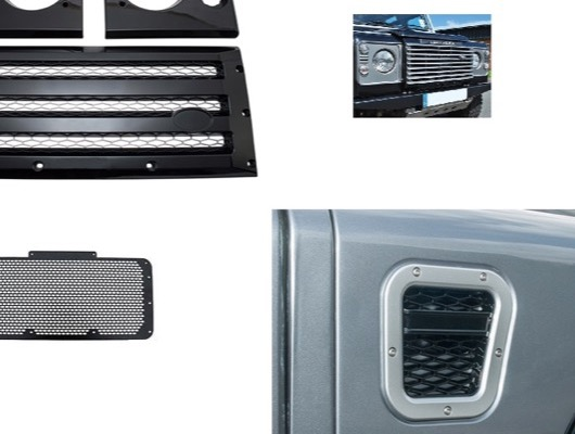 Grilles and Vents for Defender image