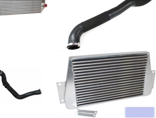 Intercooler and Pipes image