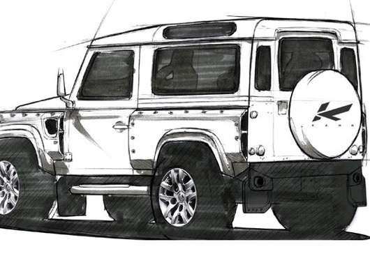 Kahn Design for Land Rover Defender