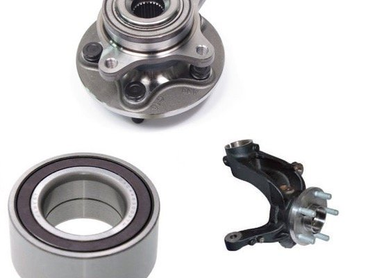 Rear Wheel Bearings and Knuckle