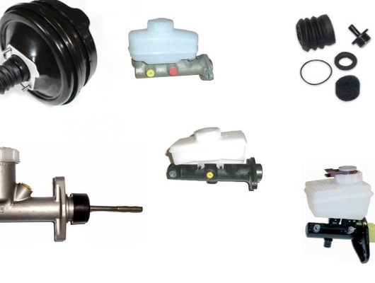 Master Cylinder and Pedal Assembly image