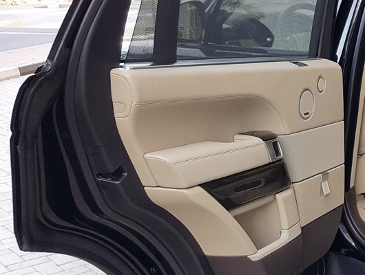 Rear Side Door Card