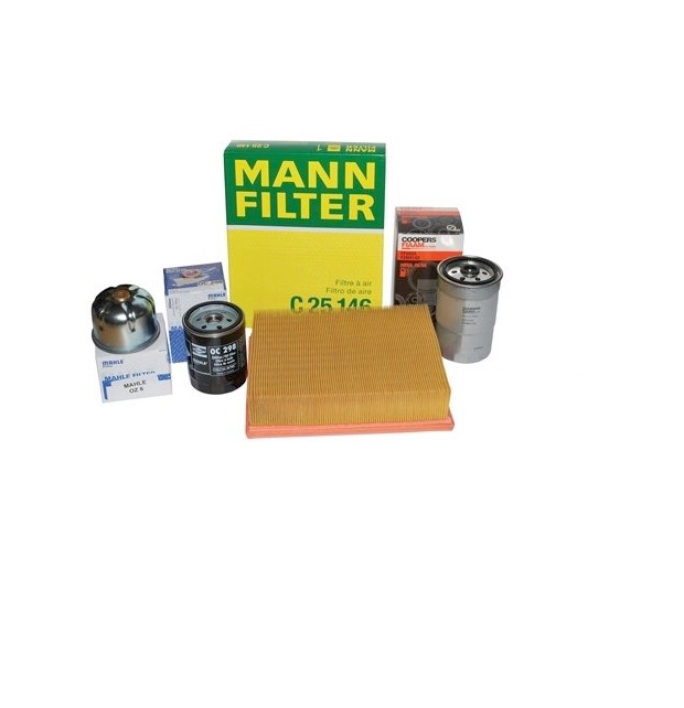 Service Kits and Filters for Naturally Aspirated and Turbo Diesel