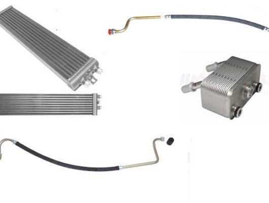Oil Cooler, Pump, Filter and Pan