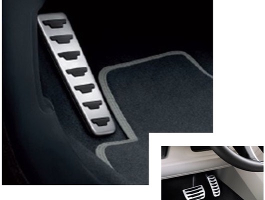 Pedal Covers and Sill Protection