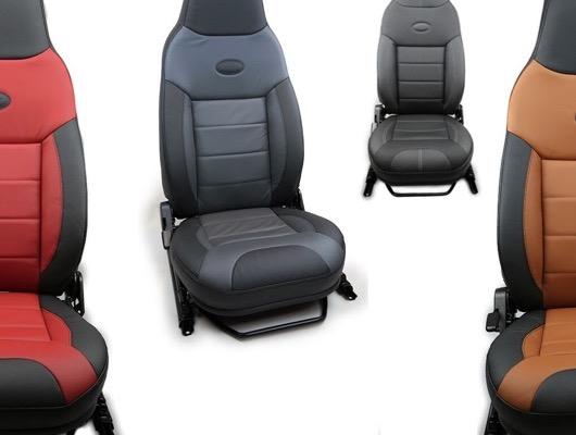 Premium Front Defender Seats