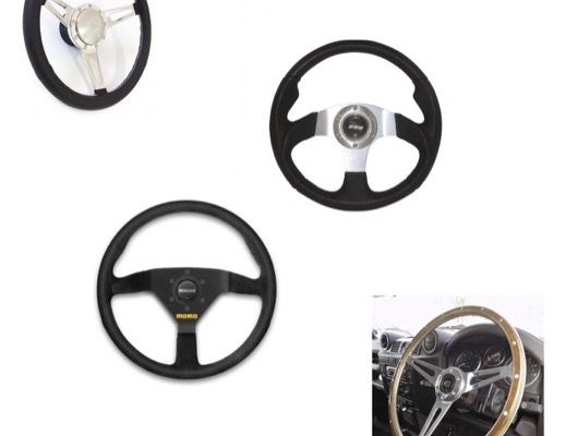Steering Wheel and Bosses image