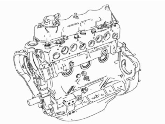 Land Rover Defender Engine Components