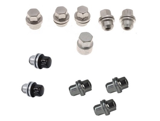 Single Locking Wheel Nut and Locking Wheel Nut Keys image