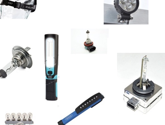 Driving Lights - Work Lamps and Bulb Kits