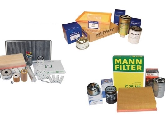 Service Kits and Filters for Range Rover L405
