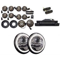 Land Rover Defender Led Light Upgrade Kit Rear Smoked Wipac DA1143SM