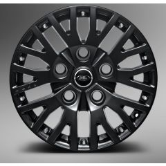 "1983DEFENDMB - Kahn Design - Defender 1983 RS Satin Black Alloy Wheel - 8 x 18"" - Single Wheel"