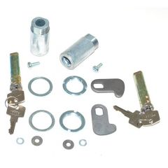 320609-2 - Land Rover Series 2A & 3 Barrel and Key Set - For Two Doors - Two Barrels and Four Keys