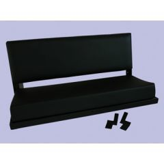 320737 - Rear Bench Seat in Black Vinyl - for Defender and Series Land Rover