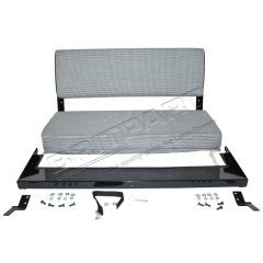 320737CG - Rear Bench Seat In County Grey - for Defender and Series Land Rover