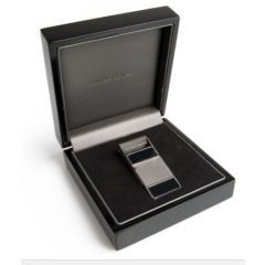 51LBGF231 - Range Rover Money Clip - Stainless Steel with Onyx Inlay