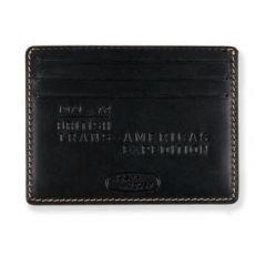 51LDLG599NVA - Range Rover Heritage Leather Card Holder - Darian Gap