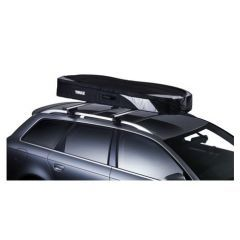 6035 - Thule Ranger 500 Roof Box - Black and Silver Foldable Roox Box