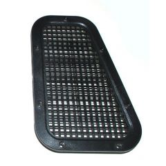 AWR2214 - Defender Wing Top Vent Cover - Vented Grille - Right Hand for Left Hand Drive Vehicle