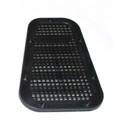 AWR2215 - Defender Wing Top Vent Cover - Vented Grille - Left Hand for Right Hand Drive Vehicle
