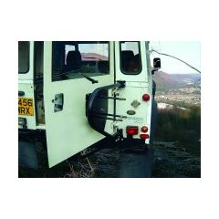 BA132 - Swingaway Spare Wheel Carrier - Will Fit Series Vehicles and Defender Upto 2002