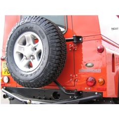 BA132M - Mantec Swingaway Spare Wheel Carrier - Will Fit All Defender Models SWCDEF
