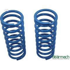 BA2104 - Front Discovery 1 & 2 Springs - Bearmach - 30mm Lift with 196lbs Rating - Pair Heavy Duty - Fits Range Rover Classic