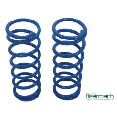 BA2231 - Front Discovery 2 Springs - Bearmach - 45mm Lift with 280lbs Rating - Pair Heavy Duty Bearmach Blue Springs