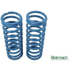 BA2251 - Front Defender Springs - Bearmach - 50mm Lift with 175lbs Rating - Top Quality Pair of Bearmach Blue Springs (Off Road Use Only)