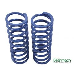 BA2252 - Rear Defender 90 Springs - Bearmach - 50mm Lift with 225lbs Rating - Top Quality Pair of Bearmach Blue Springs (Off Road Use Only)