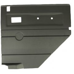 DA2484 - Defender Door Card - Rear Right Hand with Electric Windows In Black