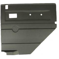 DA2485 - Defender Door Card - Rear Left Hand with Electric Windows In Black