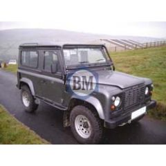 BA2900 - Body Mounted Challenge Look Roll Cage In Black for Defender