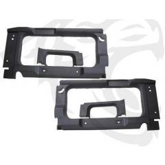 BA8002 - Rear Interior Side Trims for Land Rover Defender 90 Defender 110 station Wagon - In Dark Grey - With Cut Out for Side Windows