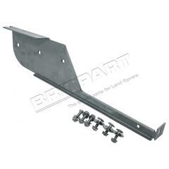 CAT500350PMASS - Defender Mudflap Bracket in Stainless Steel - Left Hand Side For 110 and 130