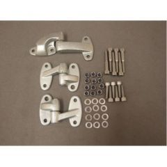 DA1074SS -  Full Safari Door Hinge Kit for Defender with Stainless Steel Bolts, Nuts Etc - Hinge BHB710070 & BHB710100